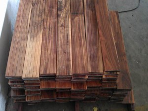 Asian Walnut Beautiful China Acacia Solid Wood Flooring
