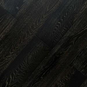 solid carbonized wood flooring