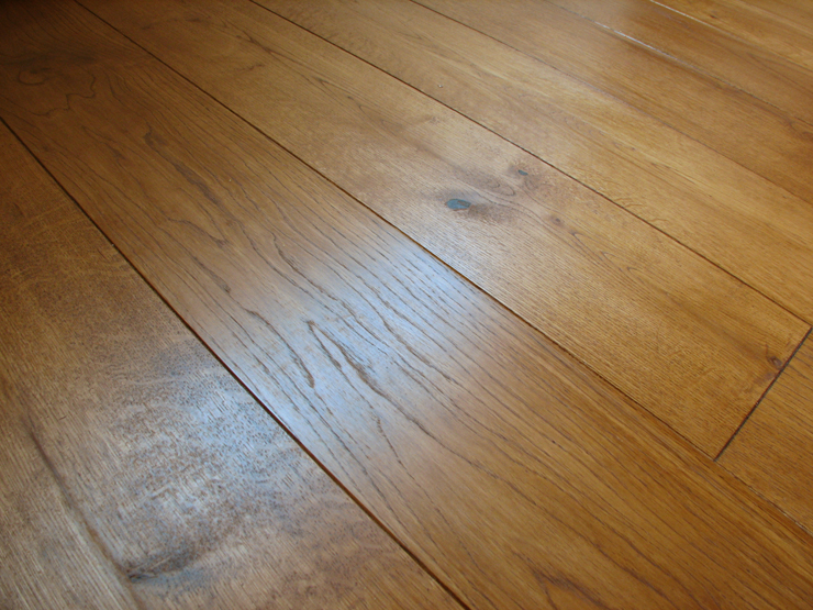 oak engineered wide board flooring