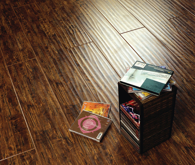 hardwood handscraped wood flooring