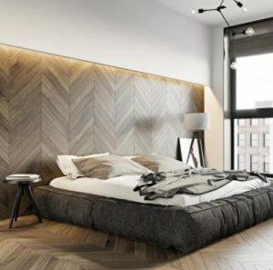 walnut color fishbone oak engineered flooring