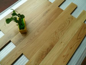 Premier UV finished white oak floors